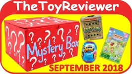 September 2018 Mystery Box Blind Bag Surprise Boy Girl Roblox Unboxing Toy Review by TheToyReviewer