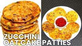 Zucchini Oat Cakes Patties - Vegan And Gluten Free