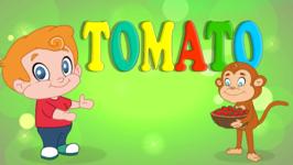 Tomato - Vegetable Song- Original Learning Song for Kids