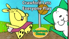 Crawford Lets Everyone Play - Cartoon For Kids - Fun Cat Videos
