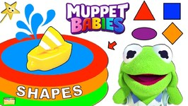 THE MUPPET BABIES Learn Shapes, Colors  Go Sailing w/ Surprise Toys Game
