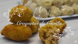 Croquetas Caseras / Coquetas de Cocido / Como hacer Croquetas / Receta Croquetas / Croquetas Jamon