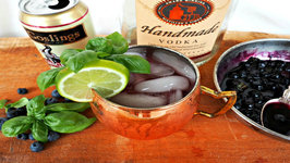 Cocktail - Blueberry Basil Moscow Mule