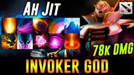 Ahjit Invoker GOD Dota 2