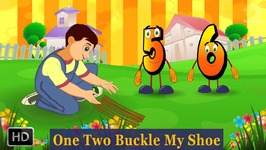 One Two Buckle My Shoe - 3D Animation Rhyme For Children