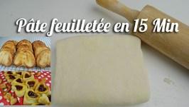 Recette Pâte Feuilletée En 15 Minutes