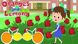 Oranges And Lemons Sold For A Penny  With Lyrics - Rhymes For Toddlers