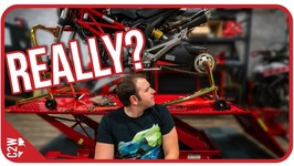 The wheel fell off...Wrecked Bike Rebuild - Ep 06 - Ducati Monster