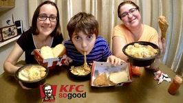 5 menu KFC / Gay Family Mukbang - Eating Show