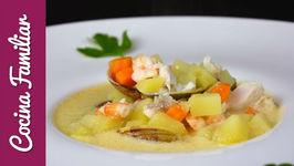 Gazpachuelo típico de Málaga - Recetas de cocina familiar