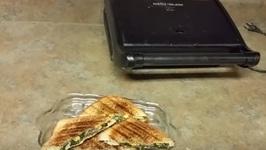 Spinach Corn - Healthy Sandwich