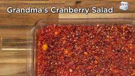 Grandma's Cranberry Salad
