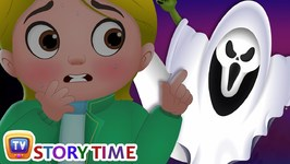Witches? or Ghosts? - Cussly Gets a Fright - Halloween Episode with Song - ChuChu TV Storytime
