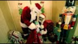 SANTA VISITS DEION for CHRISTMAS