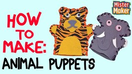 How To Make: Hand Puppets With Mister Maker