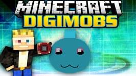 Minecraft Modded Survival - Digimobs Modded Adventures - Evolution Chibomon 2