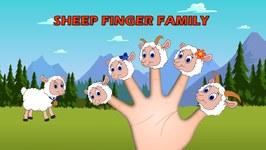 Sheep Family Nursery Rhymes For Kids - Animal Finger Family, Nursery Rhymes For Children