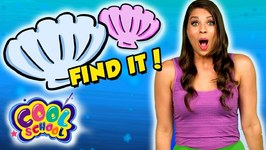 Can You Find Ariels Seashells - The Little Mermaid Story Time with Ms Booksy - Find It Game