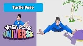 Turtle Pose - Yoga Pose Universe