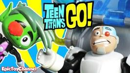 Teen Titans Go Parody Beast Boy Wants To Be Cyborg  Batman, Robin  Starfire