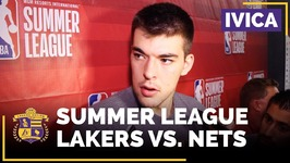 Ivica Zubac On How Much NBA Summer League Play Has Changed Since Last Year