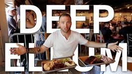 STREET ART and BBQ in DEEP ELLUM - Dallas, Texas