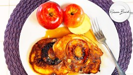 Apple Pancakes Recipe For One / The Best in the World Easy Too - Mix Used