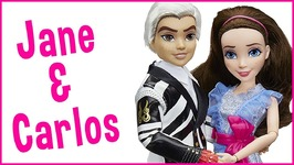 Disney Descendants 2 Pack Jane Auradon Prep and Carlos Isle of the Lost Doll Review