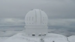 Timelapse Shows Mount Mauna Kea Covered in Snow