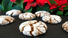 Cookie - Gingerbread Crinkle Cookies