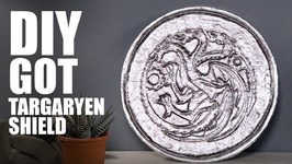 DIY Targaryen Shield  Game Of Thrones