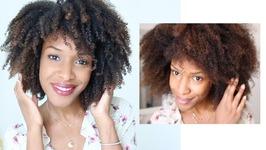 Wash And Go - Boucles Sur Cheveux Crépus - Définition En Nutrition En Été