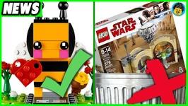 2018 Lego Star Wars Cantina Is Awful Seasonal BrickHeadz Are Awesome