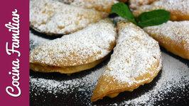 Empanadillas rellenas con crema de limón paso a paso