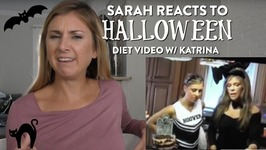Sarah Reacts To Halloween Video w/ Katrina from Tone It Up 10 years ago!