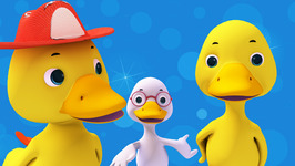 Six Little Ducks-Popular Nursery Rhymes for Children