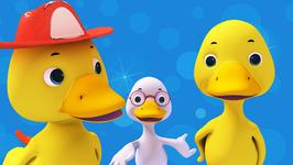 Six Little Ducks-Popular Nursery Rhymes for Children