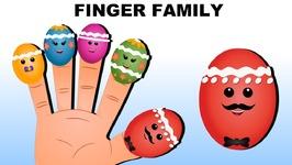 Surprise color Easter Eggs finger family songs for kids- Learn colors from easter eggs
