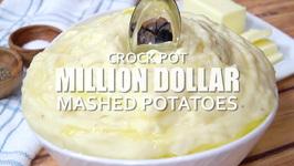 Crock Pot Million Dollar Mashed Potatoes