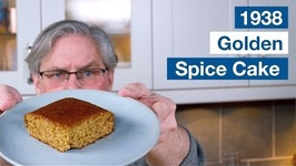 1938 Golden Spice Cake Recipe