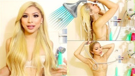 Take A Shower With Me - Blonde Hair Care Routine