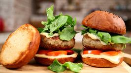Chicken Burger Recipe - Easy To Make Burger Recipe- The Bombay Chef - Varun Inamdar