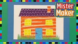 Swirly Paint House - Mister Maker