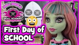Monster High Doll Series Skull Academy S01 Ep01