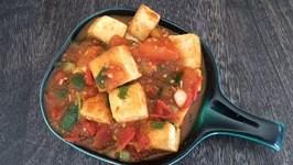 Easy Tofu Recipe - Tofu In Tomato Sauce Dau Phu Sot Ca Chua