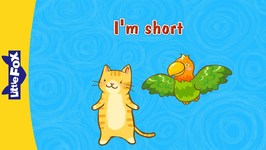 I'm Short - Learning Songs - Animated Songs for Kids