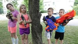 Nerf War - Boys Vs Girls 3