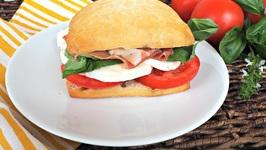 Sandwich Recipe-Caprese Style Sandwich
