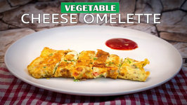 Cheese Omelette - Vegetable Cheese Omelette - Cheese Melting Egg Omelette - Beginners Recipe