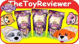 Cutetitos Burritos Plush Animals Blind Bags Unwrap Tortilla Unboxing Toy Review